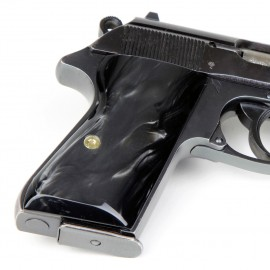 Walther PPK/S by Interarms Kirinite® Black Pearl Pistol Grips