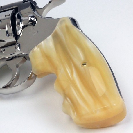 Colt Python & Official Police Combat Kirinite® Antique Pearl Grip