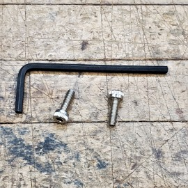 Browning Hi Power Stainless Hexhead Screws w/Allen Wrench