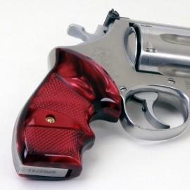 S&W N Frame Round Butt Secret Service Kirinite® Red Pearl Grips