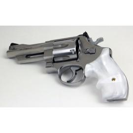 S&W K/L Frame Round Butt Secret Service Kirinite® White Pearl Grips