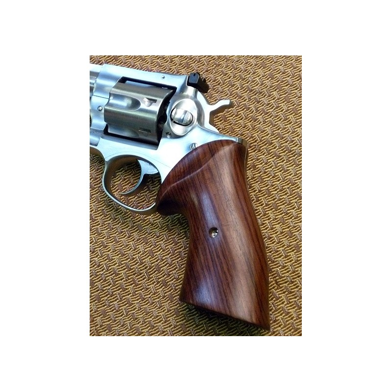 Ruger GP100 & Super Redhawk Rosewood Classic Grips Smooth Ruger GP100 &  Super Redhawk Rosewood Classic Grips Smooth