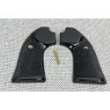 Ruger Bisley BLACK POLYMER Gunfighter Grips - CHECKERED