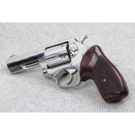 Ruger SP101 GENUINE ROSEWOOD Classic Revolver Grips - CHECKERED