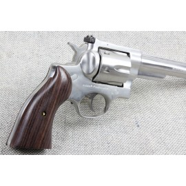 Ruger Redhawk Rosewood Panel Grips Smooth