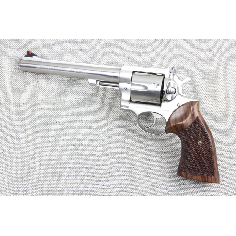 Ruger Redhawk Square Butt GENUINE ROSEWOOD Classic Grips - CHECKERED