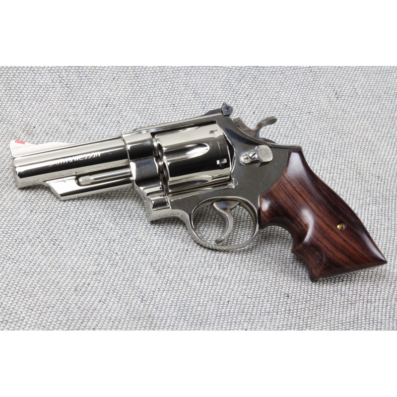 S&W N Frame Sq. Butt Secret Service Rosewood Revolver Grips