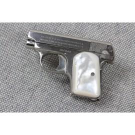 Colt Vest Pocket (1903) .25 Grips - Genuine Mother of Pearl - SMOOTH
