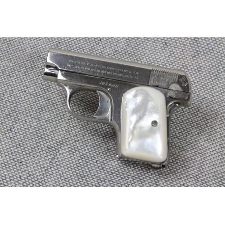 Genuine Mother of Pearl Colt Vest Pocket (1903) .25 Grips