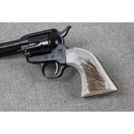 Colt .22 New Frontier American Elk Grips