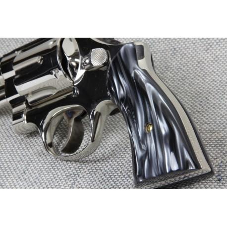 Black Ultra Pearl K/L Square Frame Premium Standard Sized Grips