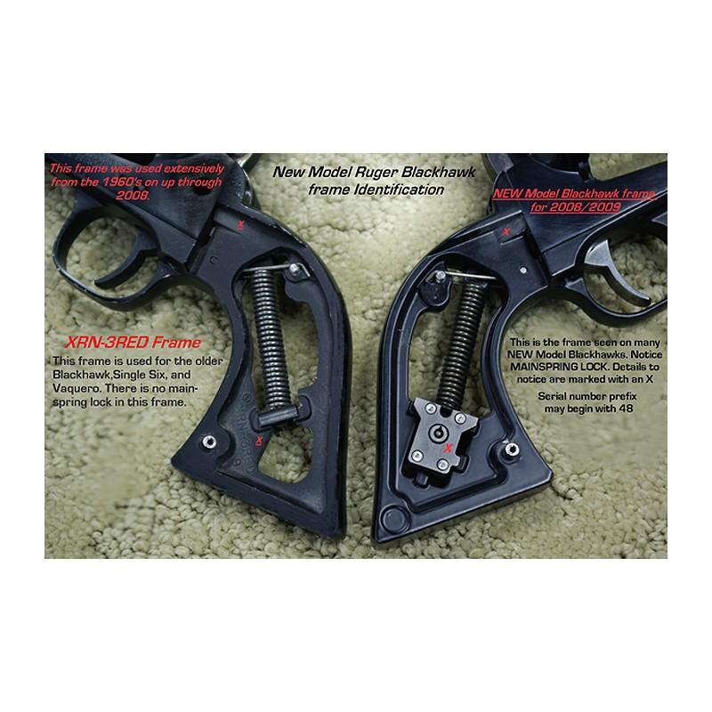 Ruger New Vaquero Rosewood Gunfighter II Grips