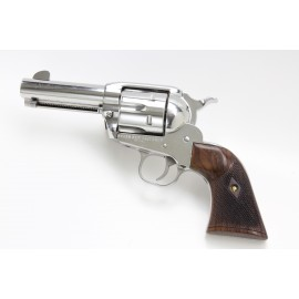 """Ruger """"Baby Vaquero"""" .32 H&R - GENUINE ROSEWOOD Gunfighter Grips - CHECKERED"""