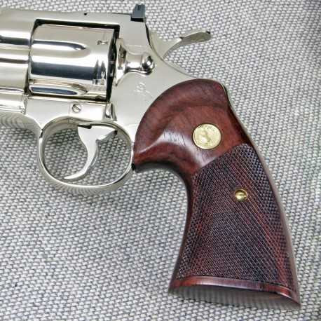 Colt Python, Official Police, and 2021 Anaconda Grips